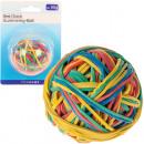 groothandel Overigen: Rubber Band Ball  60 gram kleur geassorteerd