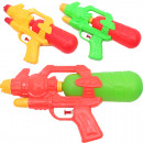 wholesale Outdoor Toys: Watergun Space Gun 27cm with tank colored sor