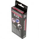 groothandel Reinigingsproducten:Wegwerphandschoenen Latex 6er Maat L, zwart