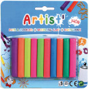 wholesale Other: Play dough 140gr, 10 colors assorted on card