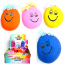 wholesale Toys: Ball anti-stress ball 7,5x6cm with face and hairst
