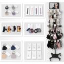 ingrosso Ingrosso Drogheria & Cosmesi: Gamma accessori 588 pezzi in metallo Display