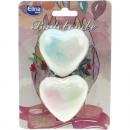 set a forma di cuore Badebombe di 2 geblister Mapp