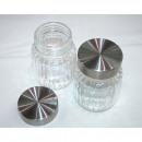 grossiste Verres: Vorratsglas  10,5x8cm,  couvercle en acier ...
