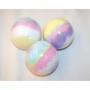 wholesale Shower & Bath: Bath bomb in  rainbow colors 7,2cm á 180g
