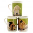 Kopje koffie met bunny motief ongeveer 250 ml, 3-v