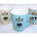 Coffee cup 8,5x7,5cm, Coffee House, 3-fold sortie
