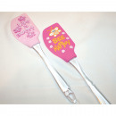 wholesale Houshold & Kitchen: Silicone spatula  23x5cm, with great motive