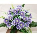 grossiste Décoration: Bouquet avec 28  fleurs et les feuilles 21