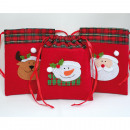 wholesale Bags & Travel accessories: Felt bag with  large application 19x15,5cm, elk,