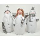 Mooie Kerstman, engelen zonder sneeuwman 11,5x6,
