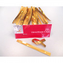 wholesale Jewelry & Watches: Clasp clip gold  color 20 pcs., Each 100x9mm a