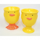 wholesale Toys: Egg cup with funny face 7x5,5x5,5cm