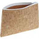 groothandel Schoolartikelen:Cork met rits 18x12,5cm,