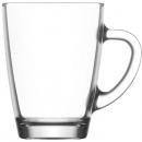 Glass mug with handle 300ml