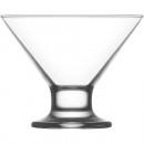 Bol à glace en verre 165ml, DM: 10cm, H: 8,5cm