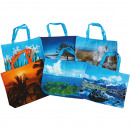 wholesale Bags & Travel accessories: Bag shopping bag XL with motifs thickness
