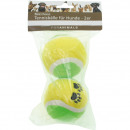Set of 2 tennis balls for dogs