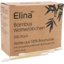 Wattestäbchen Bambus 200er in Papierschachtel