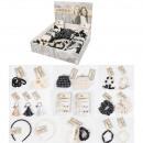 Hair, jewelry, stock exchanges assortment 60 piece