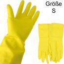 groothandel Reinigingsproducten: Rubberen  handschoenen latex small