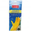 groothandel Reinigingsproducten: Rubberen  handschoenen latex medium