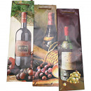 Gift-bag lacquer  bottle 35x10x10cm 4-fold