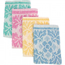 groothandel Bad- & handdoeken: Waschhandschuh  badstof 20x14 cm met rand