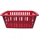 wholesale Organisers & Storage: Basket 35x24x15cm  RED to the  presentation of ...