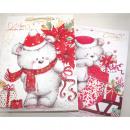 mayorista Regalos y papeleria: bolsa de regalo  dulce oso XL 34,5x 25x8,5cm, dos g