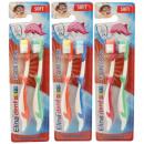Toothbrush Elina Children 2er dolphin on card sort