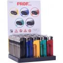groothandel Aanstekers: aanstekers elektr.halbtranspare nt met LED-licht