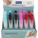 wholesale Manicure & Pedicure: Nail files glass 14x1cm in the case 6 colors in Di