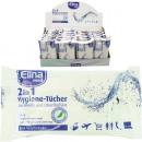 wholesale Drugstore & Beauty: Hygiene towels  15er Elina 2in1, 18,5 x 11 cm