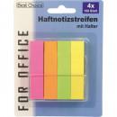 groothandel Stationery & Gifts: Sticky Notes 6cm  4x100 vel  neonkleuren met ...