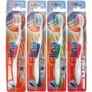 1er cepillo de dientes con la lengua de limpieza E