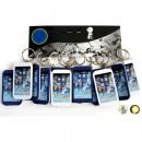groothandel Stationery & Gifts: Sleutelhangers  Handy met licht 1 LED 6,5x3,5cm