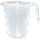 wholesale Houshold & Kitchen: Measuring cup 1  liter transparent 16 x 13cm