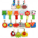 wholesale Manual Tools: Decoration Wooden  Clamp funny Set of 3, 5cm, 9 mot