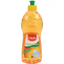 grossiste Maison et cuisine: Détergent 500ml CLEAN orange