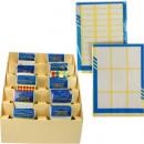 grossiste Materiel de bureau: Étiquettes 10  formats assorti en Display
