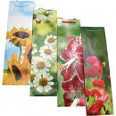 Bottle of flowers motif 33x10x9cm