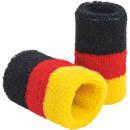 grossiste Gadgets et souvenirs: Fan Wristband  Allemagne de polyester 7x6cm