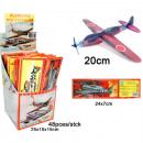 wholesale Toys: Styrofoam flyer 20 cm, in the Display