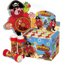 wholesale Toys: Soap Bubbles Ball  assorted Pirate 60ml assorted in