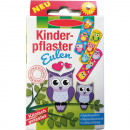 Wundverband Kinder 10er Eulen Motive