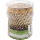 wholesale Household Goods: Toothpick 500er in  transparent can 7x5cm