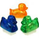 wholesale Manicure & Pedicure: Handwash Brush  Mini Duck 5.5cm 3 colors assorted