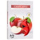 groothandel Home & Living: Teelichte geur 6  appel in de verpakking gekleurd