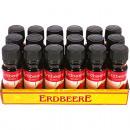 huile parfum fraise bouteille en verre de 10 ml